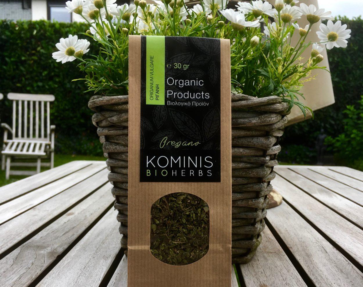KOMINIS Bio Herbs aus Griechenland -Oregano